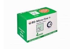 BD Micro-Fine Αιχμές για Πένα 32G x 4mm, 100 τμχ