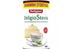 Deligios Stevia Γλυκαντικό από Εκχύλισμα Φύλλων Stevia, Οικονομική Συσκευασία 1000gr