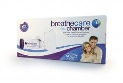 Asepta breathcare Chamber Adult από 5+ ΕτώνΣυσκευή Εισπνοής Φαρμάκου με Αντιστατική Βαλβίδα, 1 τεμάχιο