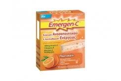 """Εικόνα του """"Emergen C Αναβράζουσα Βιταμίνη C 1000mg με Γεύση Πορτοκάλι, 10 φακελάκια """""""