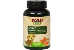 """Εικόνα του """"Now Pets Joint Support Συμπλήρωμα για Σκύλους & Γάτες για την Καλή Υγεία των Αρθρώσεων, 90 chew. tabs """""""