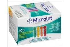Ascensia Microlet x 100 Lancets Colored