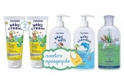 """Εικόνα του """"Frezyderm Baby ΠΑΚΕΤΟ με 2 x Baby Cream Κρέμα για την Αλλαγή της Πάνας, 2 x 175ml, Baby Bath Απαλό Αφρόλουτρο Καθημερινής Χρήσης, 300ml, Baby Hydra Milk Ενυδατικό Γαλάκτωμα Σώματος, 200ml & Baby Shampoo Απαλό Σαμπουάν Καθημερινής Χρήσης, 300ml"""""""