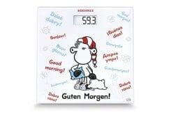 Soehnle 63835 Edition Sheepworld Good Morning Ψηφιακή Ζυγαριά 180kg, 1 τεμάχιο