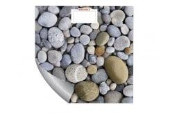 Soehnle 63349 Mix & Match Ψηφιακή ζυγαριά 180Kg με Αυτοκόλλητο Σχέδιο Βότσαλα Υψηλής Ποιότητας, 1 τεμάχιο