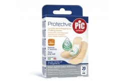 Pic Solution Protective Strip Plasters, 20 pcs