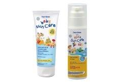 """Εικόνα του """"FREZYDERM Πακέτο Αντιηλιακής Προστασίας, FREZYDERM Baby Sun Care SPF25, Αντιηλιακό γαλάκτωμα προσώπου-σώματος με Φυσικά Φίλτρα 100ml & FREZYDERM Kids Suncare SPF50+, Αντιηλιακό γαλάκτωμα προσώπου-σώματος για παιδιά, ανθεκτικό στο νερό 150ml"""""""