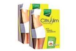 2 x Power Health Citruslim Συμπλήρωμα Διατροφής για τον Έλεγχο Βάρους, 2 x 60 caps