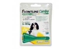Frontline Combo Spot Dog S για τη Θεραπεία Μεσαίων Σκύλων από Εξωπαραστικές Μολύνσεις, 1 x 0.67ml