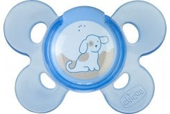 Chicco Physio Comfort Silicone 0-6m Blue, 1 pc