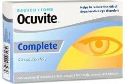 Bausch & Lomb Ocuvite Complete Συμπλήρωμα Διατροφής για την Καλή Υγεία & την Προστασία των Ματιών, 60softgels
