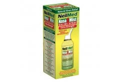 NeilMed NasaMist Extra Strength Hypertonic Υπέρτονο Ρινικό Σπρέι για την Ανακούφιση της Ρινικής Κοιλότητας, 125ml