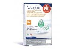Pic Solution AquaBloc Strip Plasters, 5x7cm, 5 pcs