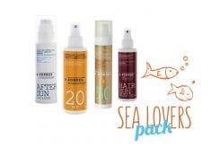 """Εικόνα του """"Korres Sea Lovers Pack με Αντηλιακή Κρέμα Προσώπου Κόκκινο Σταφύλι με Χρώμα SPF50, 50ml, Αντηλιακό Γαλάκτωμα Προσώπου & Σώματος SPF20 Γιαούρτι, 150ml, Αντηλιακό Μαλλιών Κόκκινο Αμπέλι, 150ml & After Sun Προσώπου & Σώματος με Γιαούρτι, 150ml"""""""
