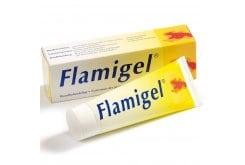 Flamigel, Υδροενεργό επίθεμα, σε μορφή gel, ιδανικό για την αντιμετώπιση πληγών και εγκαυμάτων, 50gr