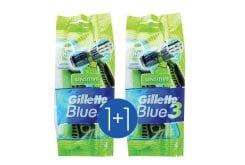 """Εικόνα του """"Gillette Blue 3 Sensitive Ξυραφάκια μιας Χρήσης με Λιπαντικές Ταινίες (1+1 ΔΩΡΟ), 2 x 4 τεμάχια """""""