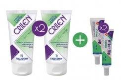 Frezyderm Πακέτο Εντομοαπωθητικής Προστασίας 2 x FREZYDERM CRILEN 125 ml Ενυδατικό εντομοαπωθητικό γαλάκτωμα & 2 x FREZYDERM CRILEN AFTER NIP,Απαλό gel που ανακουφίζει το ερεθισμένο δέρμα από το τσίμπημα εντόμων, 30 ml