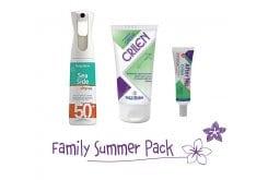 "Image of ""Frezyderm Family Summer Pack με Sea Side Dry Mist SPF50+ Αντηλιακό Spray, 300ml, Crilen Ενυδατικό Εντομοαπωθητικό Γαλάκτωμα, 125ml & Crilen After Nip Απαλό Gel για το Ερεθισμένο Δέρμα από το Τσίμπημα Εντόμων, 30ml """