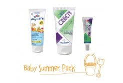 Frezyderm Baby Summer Pack with Baby Sun Care SPF25, 100ml, Crilen Moisturizing Emulsion and Insect Repellant, 125ml & Crilen After Nip Gel, 30ml