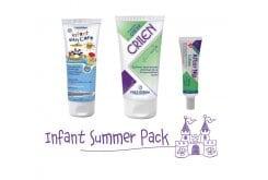 "Image of ""Frezyderm Infant Summer Pack με Infant Sun Care SPF50 Παιδικό Αντηλιακό Γαλάκτωμα Προσώπου & Σώματος, 100ml, Crilen Ενυδατικό Εντομοαπωθητικό Γαλάκτωμα, 125ml & Crilen After Nip Gel για τα Τσιμπήματα, 30ml """