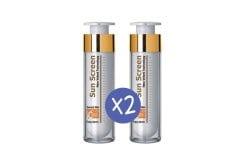 """Εικόνα του """"2 x Frezyderm Sun Screen Velvet Face Cream SPF50+ Αντηλιακή Κρέμα Προσώπου με Άριστη Εφαρμογή, 2 x 50ml """""""