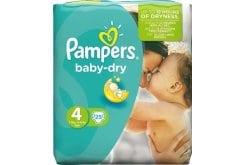 Pampers Baby Dry Maxi No. 4 (7-18 kg) ΕΚΠΤΩΤΙΚΟΣ ΚΩΔΙΚΟΣ Βρεφικές Πάνες, 25 τμχ