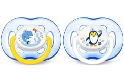 Philips Avent Freeflow Soothers 18m+ Blue, 2pcs