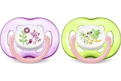 Philips Avent Freeflow Soothers 18m+ Pink, 2pcs