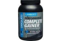 Lamberts Performance Complete Gainer Whey Protein Πρωτεΐνη Ενισχυμένη με Σύνθετους Υδατάνθρακες, Κρεατίνη, Βήτα Αλανίνη & HMB με Γεύση Σοκολάτα, 1816g