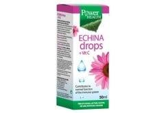 """Εικόνα του """"Power Health Echina DROPS + Vit C Συμπλήρωμα Διατροφής με Εκχύλισμα του Φυτού Εχινάτσεια & Βιταμίνη C, 50ml """""""