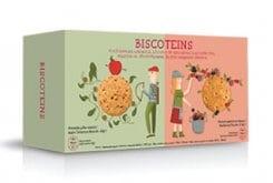 """Εικόνα του """"Power Health Biscoteins Απολαυστικά Μπισκότα Πλούσια σε Πρωτεΐνες & Φυτικές Ίνες, με Γεύση Μήλου Κανέλας & Φρούτων του Δάσους, 10 τεμάχια """""""