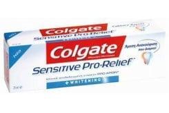 Colgate Sensitive Pro-Relief Whitening Λευκαντική Οδοντόκρεμα για τα Ευαίσθητα Δόντια, 75ml