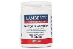 """Εικόνα του """"Lamberts Methyl B Complex Συμπλήρωμα Βιταμινών Συμπλέγματος B, 60tabs """""""