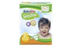 Babylino Junior Plus Νο.5+ (13-27 kg) Απορροφητικές Παιδικές Πάνες, 16 τεμάχια