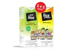 Lucovit ΠΑΚΕΤΟ (1+1) με Anti-Lice Cream Lotion Αντιφθειρική Λοσιόν για τη Θεραπεία των Ψειρών & Κόνιδων, 75ml + Χτενάκι & ΔΩΡΟ Lice Protect Spray Προληπτικό Αντιφθειρικό Σπρέι, 100ml
