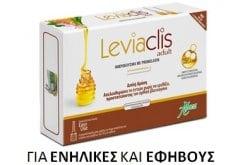 Aboca Leviaclis Adult Μικροκλύσμα με Promelaxin για την Καταπολέμηση της Δυσκοιλιότητας, 6 x 10gr