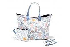 """Εικόνα του """"La Millou Family Mommy's Bag Τσάντα για τη Μητέρα, 1 Μεγάλη Τσάντα, 1 Μικρό Τσαντάκι & 2 Γάντζοι """""""