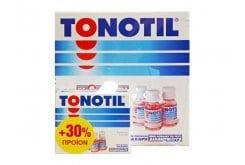 Tonotil 4 Αμινοξέα Πόσιμο Συμπλήρωμα Διατροφής για την Πνευματική & Σωματική Κόπωση , 10 + 3 ΔΩΡΟ x 10ml