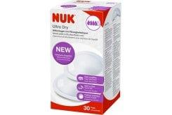 Nuk Ultra Dry Comfort Επιθέματα Στήθους, 30 τεμάχια
