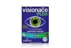 Vitabiotics Visionace Plus28 ταμπλέτες Visionace + 28 κάψουλες με εστέρες λουτείνης & ωμέγα-3