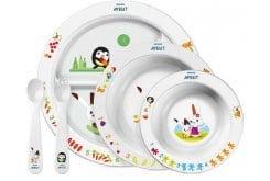 """Εικόνα του """"Philips Avent SCF716/00 Σετ Φαγητού για Νήπια 6m+, 5 τεμάχια """""""