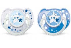 Philips AVENT Night-Time Soother 6-18m, 2pcs