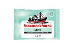 Fisherman's Friend Mint Καραμέλες με Δυνατή Γεύση Μέντας, 25gr