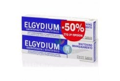 2 x Elgydium Whitening -50% ΤΟ 2ο ΠΡΟΙΟΝ Λευκαντική Οδοντόκρεμα, 2 x 75ml