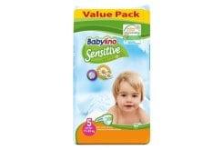"""Εικόνα του """"Babylino Junior Νο.5 (11-25 kg) Value Pack Απορροφητικές Παιδικές Πάνες, 44 τεμάχια"""""""