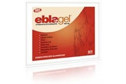 """Εικόνα του """"EblaGel, Φυσικά ζεστά αυτοκόλλητα έμπλαστρα, που παρέχουν θεραπευτική θέρμανση σε βάθος, 2 τεμάχια"""""""