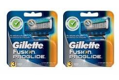 """Εικόνα του """"2 x Gillette Fusion Proglide (1+1) Ανταλλακτικές Κεφαλές , 2 x 3 τεμάχια"""""""
