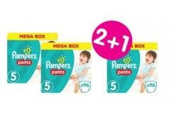 """Εικόνα του """"3 x Pampers Pants Jumbo Pack No.5 (Junior) 12-18 kg (2+1 ΔΩΡΟ)  Βρεφικές Πάνες Βρακάκι, 3 x 96 τεμάχια"""""""