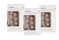3x Korres Exfoliating Body Soap, 3x 125 gr