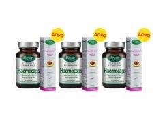 3 x Power Health PROMO Classics Platinum Haemocaps Συμπλήρωμα Διατροφής για τις Αιμορροΐδες, 3 x 30 caps & ΔΩΡΟ Haemocream Μαλακτική Κρέμα με Ρούσκο & Ιπποκάστανο για τις Αιμορροΐδες, 3 x 50ml